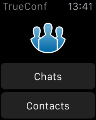 Get more features with TrueConf on Apple Watch 1