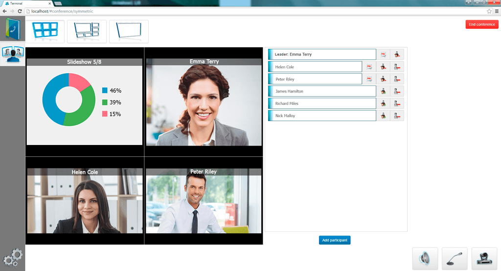 TrueConf Terminal 2.0 Beta: Convenient Collaboration Software for Meeting Rooms 2