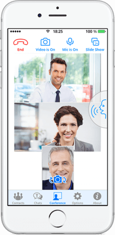 TrueConf 1.7 for iOS: A Breakthrough in Mobile Video Conferencing 1