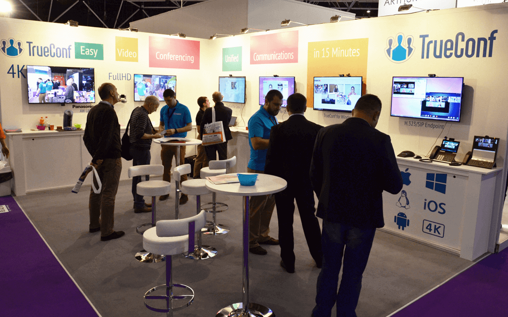 TrueConf joins Integrated Systems Europe 2017 3