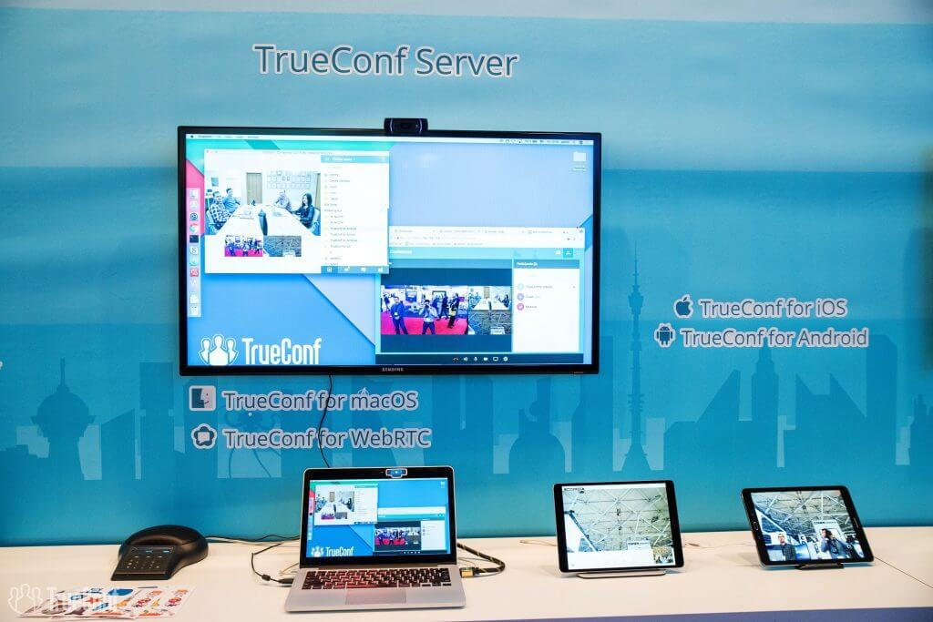 TrueConf at Integrated Systems Europe 2018 14