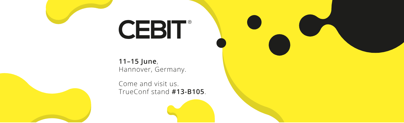 TrueConf Announces Participation in CeBIT Hannover 2018