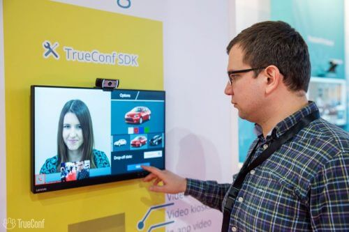 TrueConf creates custom made car rental kiosk with video conferencing 1
