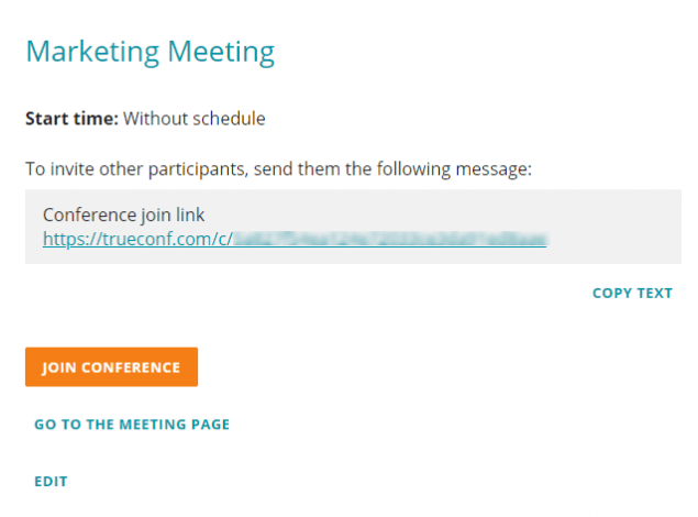How to organize online meetings using TrueConf cloud-based service 1