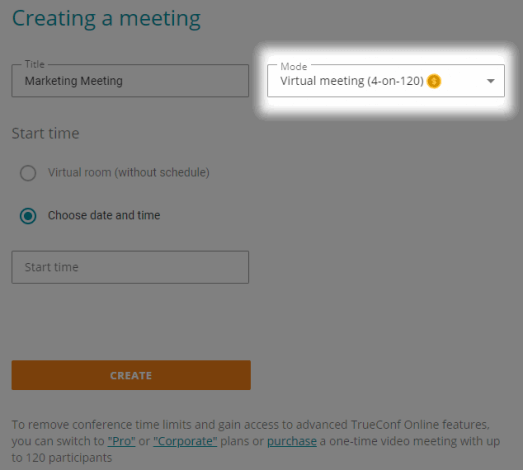 How to organize online meetings using TrueConf cloud-based service 7