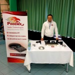 Phoenix Audio booth at Video+Conference Russia 2014