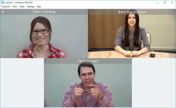 How to organize video conferences using TrueConf for Windows application 1