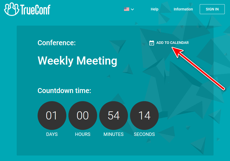 How to join TrueConf video conference via a link 2