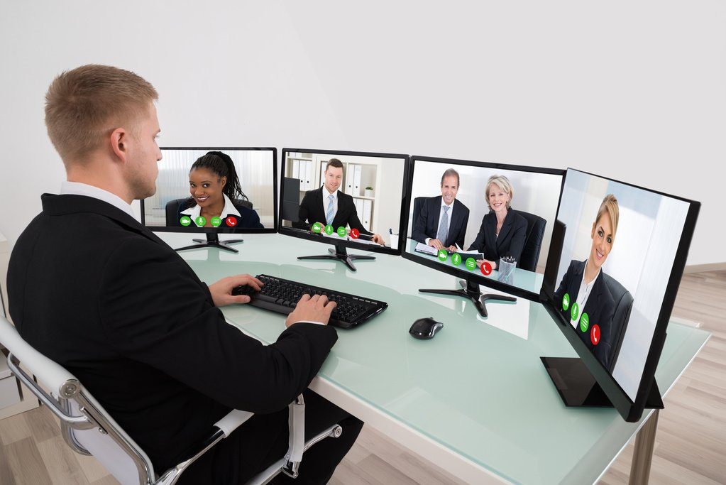 video conference Enterprise-quality video conferencing has traditionally been very expensive,  complex to manage, difficult to use, and hard to scale to more than a handful of.