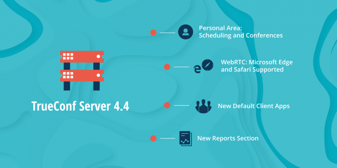 TrueConf Server 4.4.0: Personal Area, Conference Templates and More 1