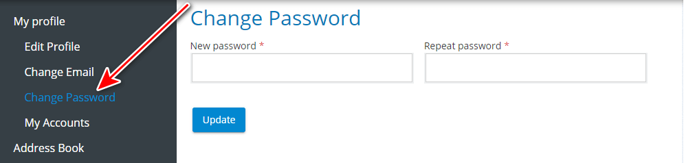 How to manage TrueConf Online user account 3
