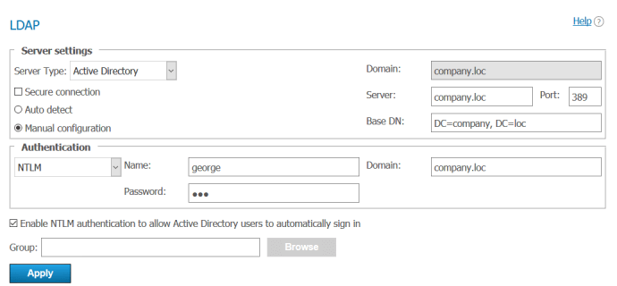 How to Setup User Data Synchronization between TrueConf Server and Active Directory? 1