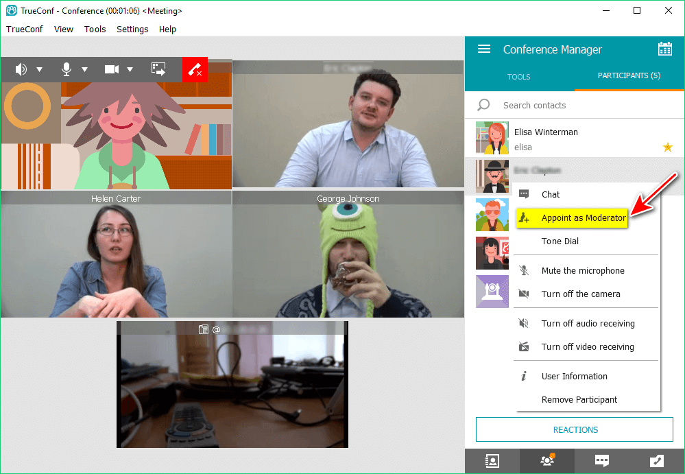 How to change video layout displayed on H.323 / SIP devices during a video conference? 1