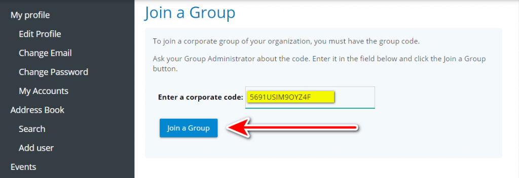 How to create corporate group in TrueConf Online 8