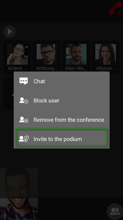 Group Video Conferencing on Android 8