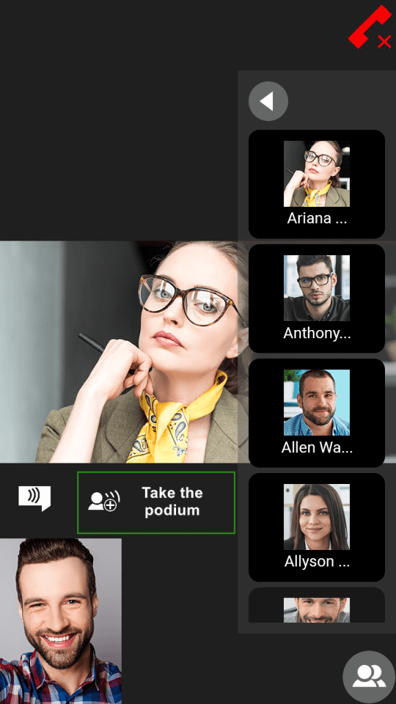 Group Video Conferencing on Android 9
