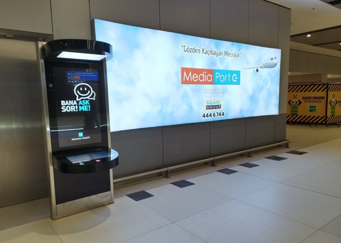 New Istanbul Airport Launches Video Kiosks to Transform Travel Experience