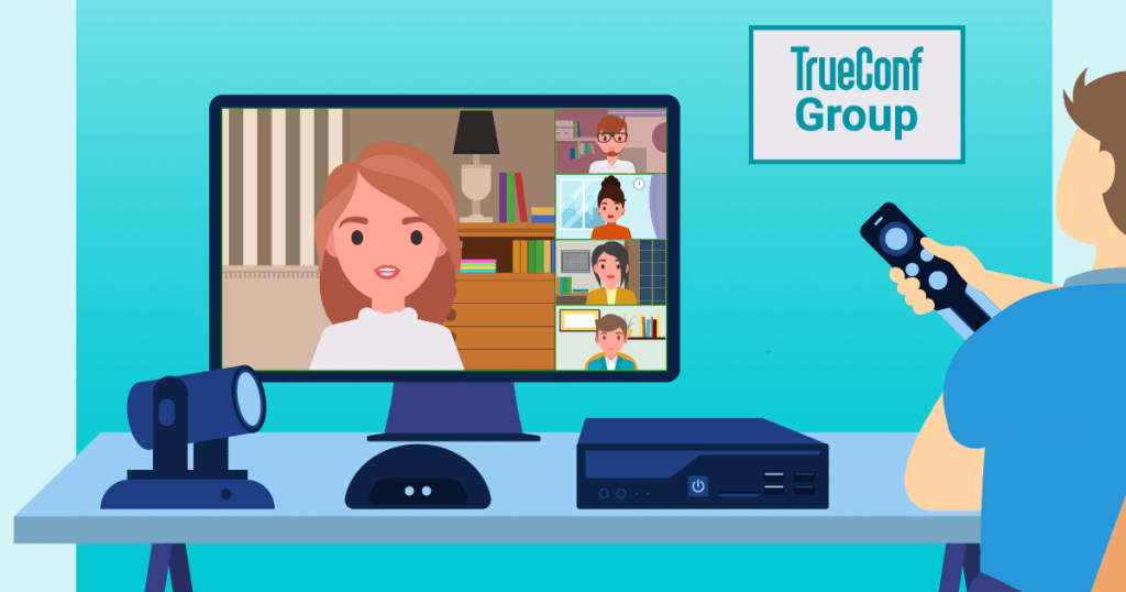 TrueConf Group: A High-End Video Conferencing Endpoint 1
