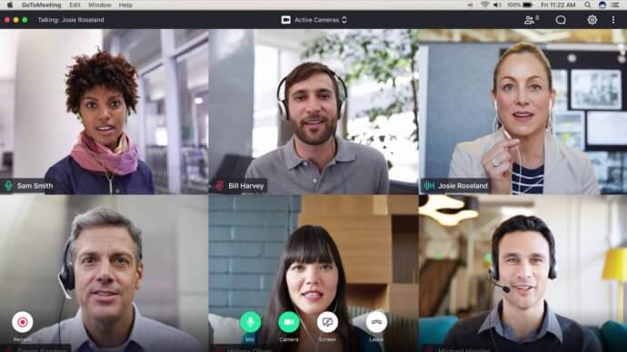 GoToMeeting - online meeting software
