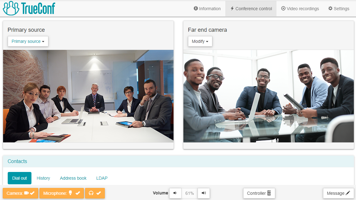 TrueConf Group 5.7 Upgrade: Unified meeting management, network monitoring and a new remote 2