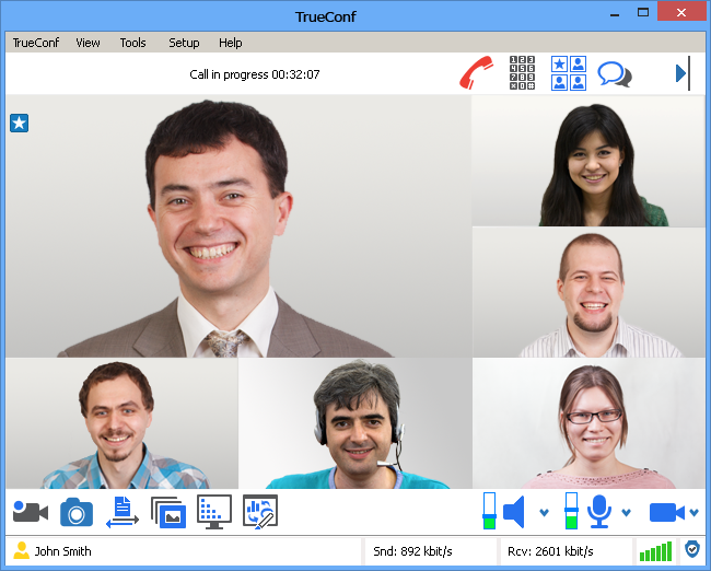 Video Conferencing Server Software: Works via Internet, LAN, VPN