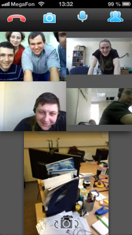 TrueConf Introduces Group Video Conferences for iPhone and iPad 2