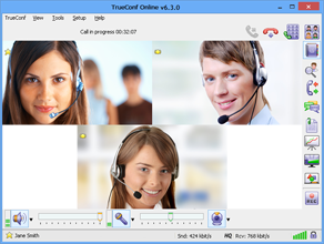 TrueConf Offers Free Three-Way Multipoint Video Conferences for iOS, OS X and Windows Users 1
