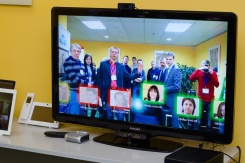 Gesture-controlled Video Conferencing